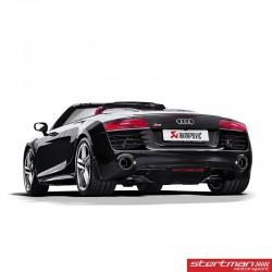 Audi R8 V10 2012-15 Akrapovic Slip-On i Titan med kolfiber utblås