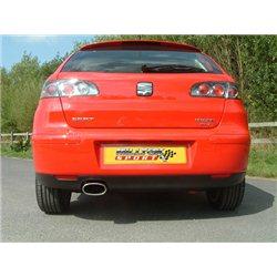 Seat Ibiza 1,8T FR Milltek Sport Cat-Back 1x 118mm Special Oval utblås