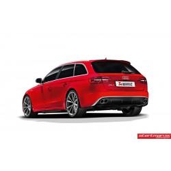 Audi RS4 Akrapovic Evolution System i Titan med kolfiber utblås