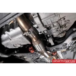 Audi A1 1,4TSi Milltek Sport Downpipe med racekatalysator