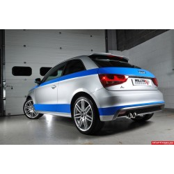 Audi A1 1,4TSi 185 Milltek Sport Cat-Back 2x GT80 Chrome utblås