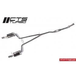 Audi A4 2,0TFSi B7 CTS Turbo Cat-Back avgassystem