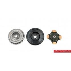 Audi RS4 2,7T V6 B5 Sachs Performance kopplings kit med enkelmassesvänghjul (7,2kg) sinterlamell 600nm
