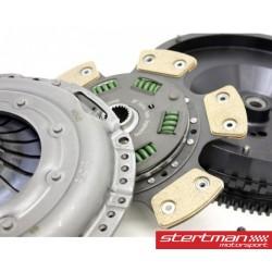 Audi S4 2,7T V6 B5 Sachs Performance kopplings kit med enkelmassesvänghjul (7,2kg) sinterlamell 600nm