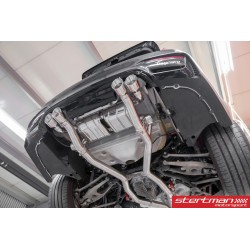 BMW M3 / M4 Capristo Slip-On med aktiva avgasventiler