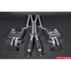 Audi RS4 B7 Capristo Cat-Back med aktiva avgasventiler
