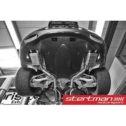 Bentley Continental GT W12 Capristo Cat-Back med aktiva avgasventiler