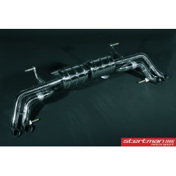 Audi R8 V8 2007-12 Capristo Cat-Back med aktiva avgasventiler