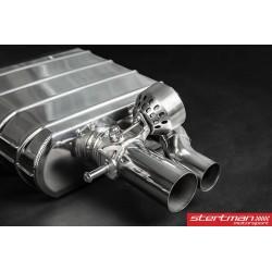 Audi RS7 Capristo Cat-Back med aktiva avgasventiler