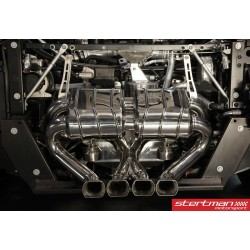 Lamborghini Aventador LP700-4 Capristo Cat-Back med aktiva avgasventiler
