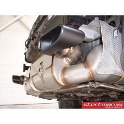 Porsche 997 GT2 Europipe Turbo-Back Steg 1 avgassystem
