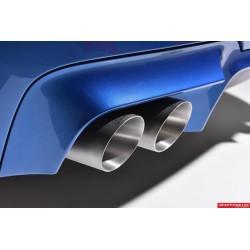 BMW M5 (F10) Milltek Sport Cat-Back 4x 90 titan GT utblås med aktiva avgasventiler