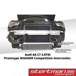 "Audi A7 3,0TDi (singel turbo) C7 Wagner Tuning ""Competition"" Intercooler kit"