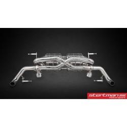 Audi R8 V8 2012-15 Capristo Cat-Back med aktiva avgasventiler