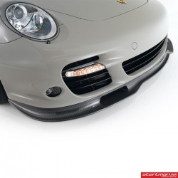 Porsche 997.1 / 997.2 Turbo Werks1 Kolfiber Frontläpp