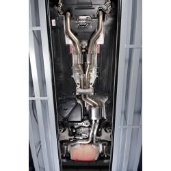 Audi RS5 4,2 V8 B8 Milltek Sport Cat-Back med aktiva avgasventiler - Non-Resonated (mindre-dämpad)