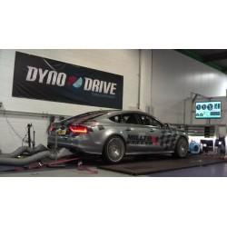 Audi S7 4,0TFSi V8 C7 Milltek Sport Cat-Back 4x 100 titan GT utblås med aktiva avgasventiler - Non-Resonated (mindre-dämpad)