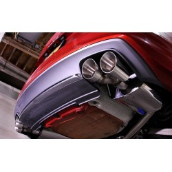 Audi S5 3,0TFSi Sportback B8.5 Milltek Sport Cat-Back 4x 100 chrome GT utblås - Non-Resonated (mindre-dämpad)