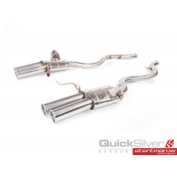 Bmw M3 E90, E92, E93 QuickSilver Slip-On avgassystem