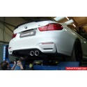 Bmw M4 F82, F83 QuickSilver Cat-Back avgassystem