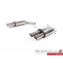 Bmw M6 E63. E64 QuickSilver Slip-On avgassystem
