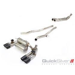 Bmw M2 F87 QuickSilver Cat-Back Titan avgassystem
