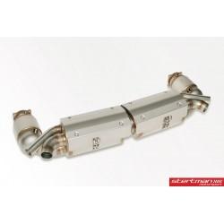 Porsche 991.2 Turbo / Turbo S Europipe Turbo-Back avgassystem