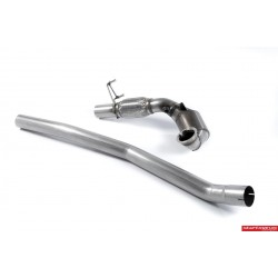 "VW Golf GTi mk7.5 Milltek Sport 3"" gjuten Downpipe med HJS 200 cells racekatalysator (upp till 500hk)"