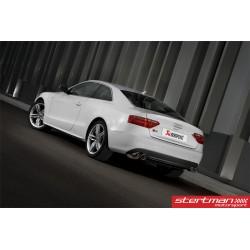 Audi S5 V8 Akrapovic Slip-On i Rostfritt med titan utblås