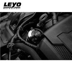 VAG 2,0TFSi EA888 Leyo Motorsport Oljefilterhus i aluminium (Svart eloxering)