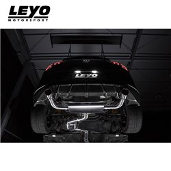 VW Golf GTi mk7 Leyo Motorsport Cat-Back avgassystem
