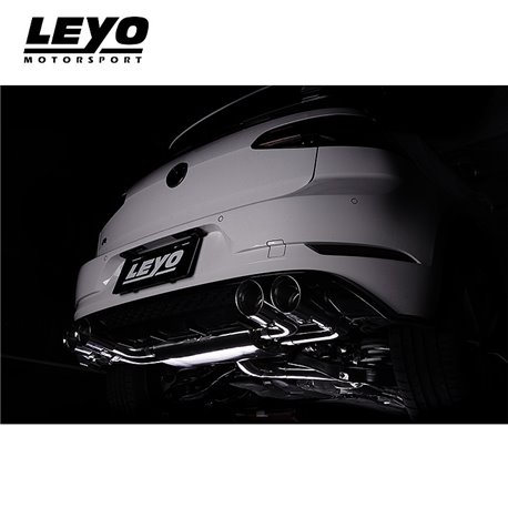 VW Golf R mk7.5 Leyo Motorsport Downpipe utan katalysator