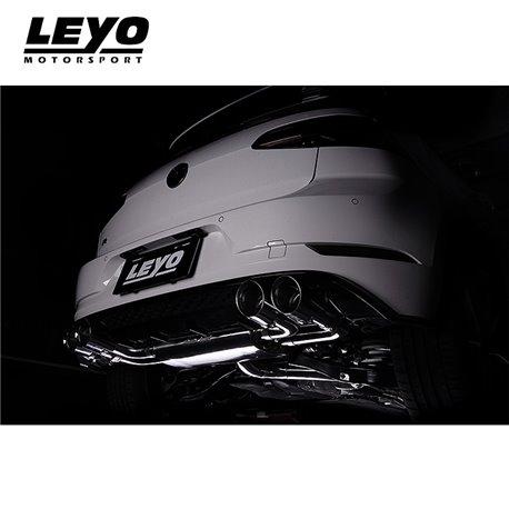 VW Golf R mk7.5 Leyo Motorsport Downpipe utan katalysator