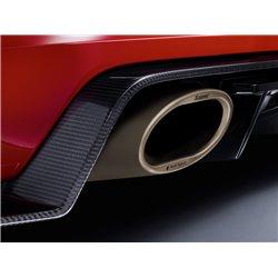 Audi TTRS 2,5TFSi 8S Akrapovic Slip-On System i Titan med Titan utblås