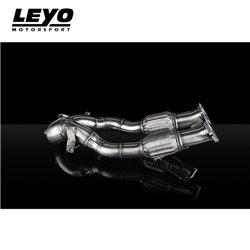 Audi RS3 Facelift 400hk Leyo Motorsport Downpipe utan katalysator