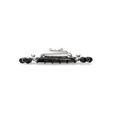 BMW M5 F90 Akrapovic kolfiber diffuser blank