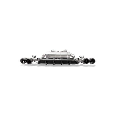 BMW M5 F90 Akrapovic kolfiber diffuser matt