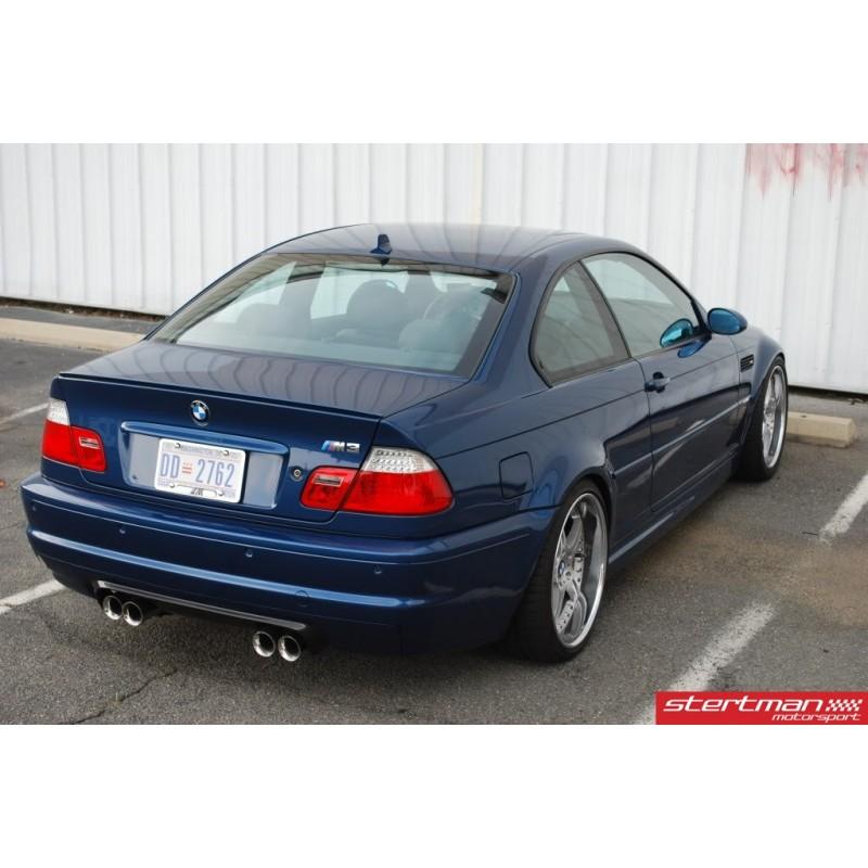 BMW M3 E46 Milltek Sport Cat-Back 4x 80mm Special Utblås