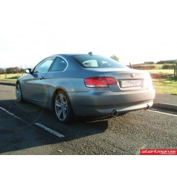 BMW 335i E92 / E93 Milltek Sport från främre katalysator och bakåt 2x 100 JET utblås