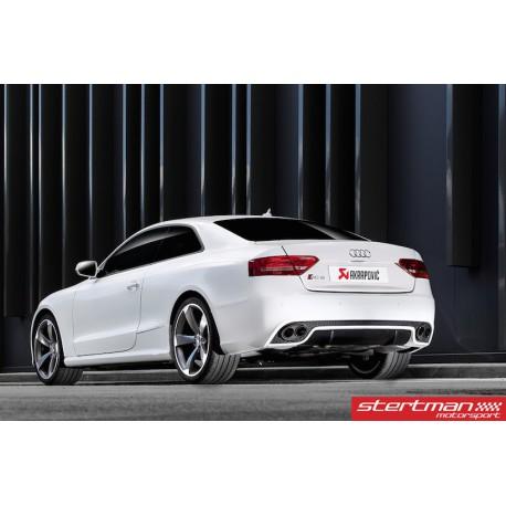 Audi RS5 Akrapovic Evolution System i Titan med kolfiber utblås