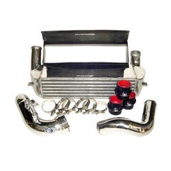 BMW 135i 3,0T N54 E82 Evolution Racewerks Competition Intercooler kit med kolfiberstyrning