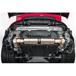 Porsche 991.2 GT2 RS Europipe Turbo-Back avgassystem
