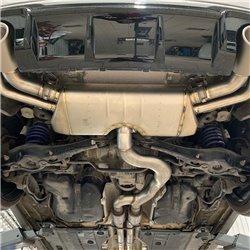 Audi RS3 2,5TFSi OPF Sportback 8V Akrapovic Slip-On System i Titan med Titan utblås