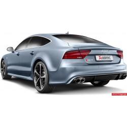 Audi RS7 4,0TFSi V8 4G Akrapovic Evolution System i Titan med kolfiber utblås