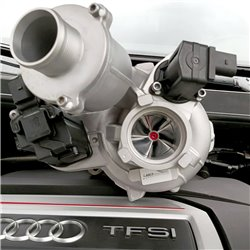 Ladermanufaktur GMBH VAG MQB 2,0TFSi LM500 Track IS38 uppgraderings turbo