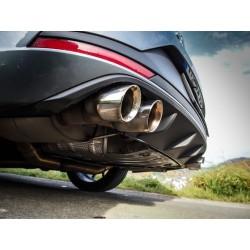 Seat Leon 2,0T Cupra OPF ST 4drive Milltek Sport Cat-Back 4x 80 Chrome GT utblås - Resonated (dämpad)