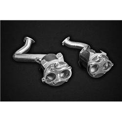 Porsche Cayman 781 4,0 GT4 OPF Capristo 2x 100 Cells Racekatalysatorer (OPF delete)