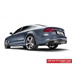 Audi S7 Akrapovic Evolution System i Titan med kolfiber utblås