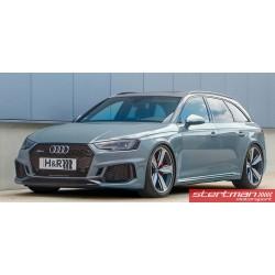 Audi RS4 B9 H&R sänkningssats sänker 20/20mm (Passar bilar med RS adaptiva sportdämpare)