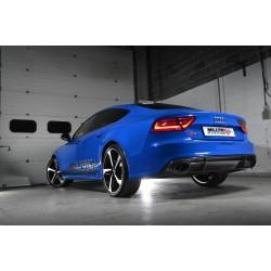 Audi RS7 4,0TFSi 4G Milltek Sport Turbo-Back avgassystem med 100cells racekatalysator använder original avgasventiler - Resonate